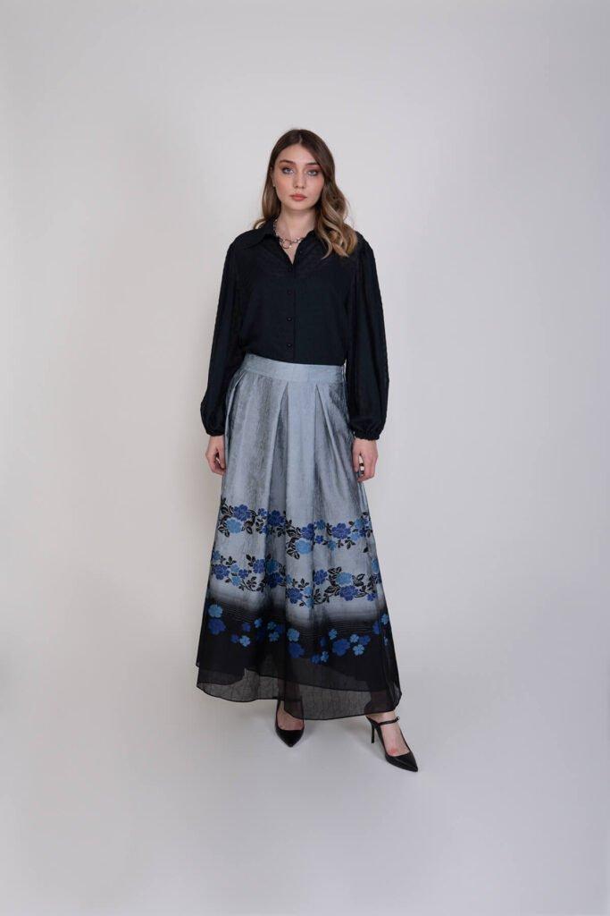 Sembol Giyim Şifon Şık Kadın Gömlek 193803